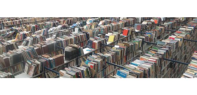 Le stockage des livres